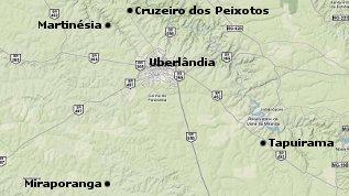 Distritos de Uberlândia