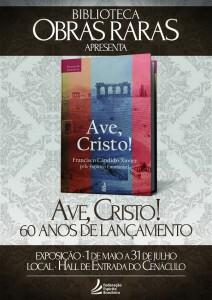 Exposição 60 anos Ave, Cristo
