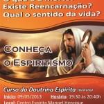 Curso Doutrina Espirita Manhuaçu