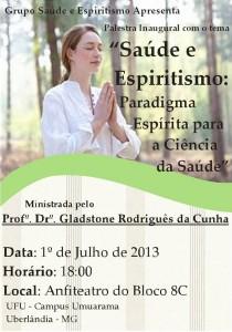Palestra Inaugural Grupo Saúde e Espiritismo