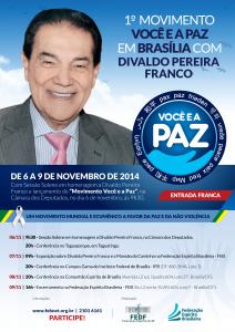 voce e a paz brasilia 2014