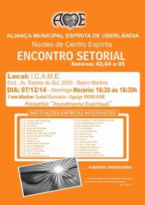encontro setorial setor 2 4 5