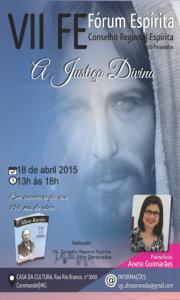 VII Fórum Espírita - 2015