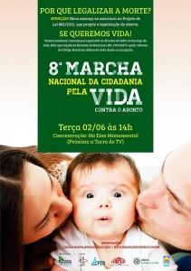 8 marcha contra aborto