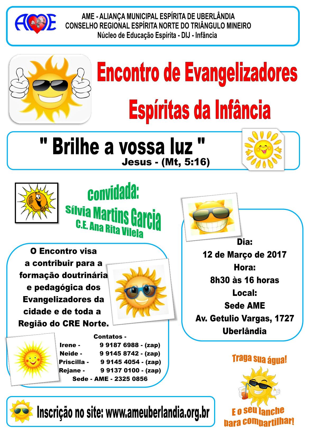 Encontro evangelizadores 2017